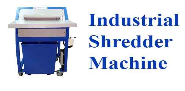 Industrial Shredder Machine|Industrial Shredder Machines